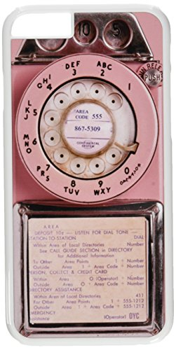 On Your Case IPH06-SOW-0064 Coque pour iPhone 6 Motif Vintage Payphone Rose