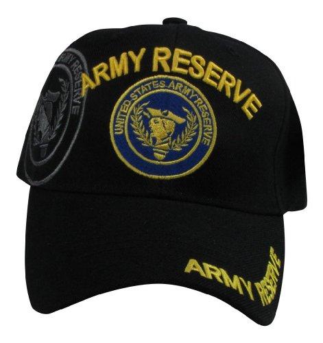 US Warriors Men's U.S. Army Reserve Baseball Hat One Size Black