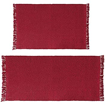 Amazon Com Eanpet Braided Rug Cotton Area Rug Hand Woven