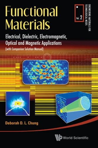 Functional Materials: Electrical, Dielectric, Electromagnetic, Optical and Magnetic Applications, (With Companion Solution Manual) (Engineering Materials for Technological Needs)