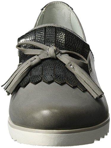 Gris Mocassins 24202 Be Grey lt Femme 204 Natural af4FPqI