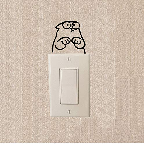 Simon's Cat - Aufkleber Lichtschalter