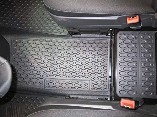 Mittelmatte devant Bodenluftkanal Noir W 639 Viano//Vito An de Construction 10//2003-09//2010 LHD et RHD Mercedes Benz Original 1 Tapis en Caoutchouc