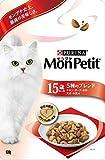 モンプチ バッグ 高齢猫用(15歳以上) 5種のブレンド チキン・ポーク・お米・大豆・小魚味 600g [キャットフード・ドライ]
