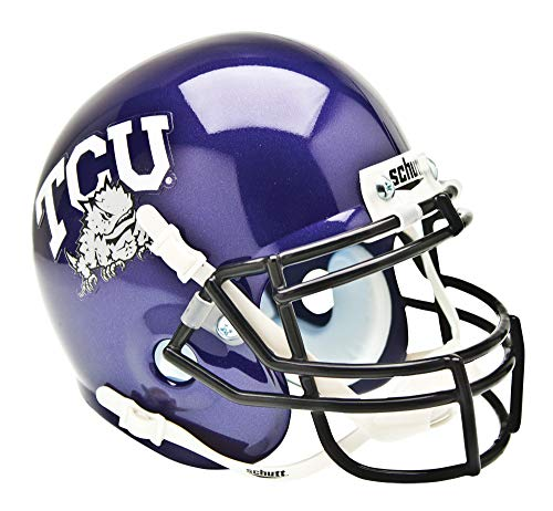 NCAA TCU Horned Frogs Collectible Mini Helmet