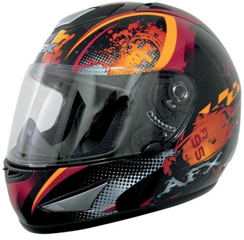 AFX FX-95 Stunt Helmet , Size: Sm, Distinct Name: Orange Stunt, Helmet Type: Full-face Helmets, Helmet Category: Street, Primary Color: Orange, Gender: Mens/Unisex 0101-5825