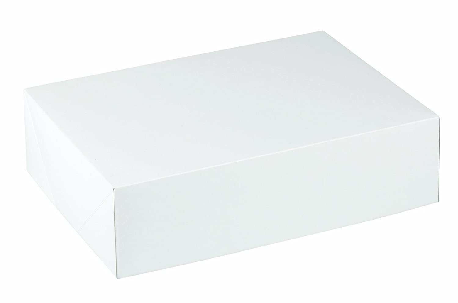 Wilton 415-0726 2-Pack Corrugated Cake Box, 10 by 14 by 4-Inch