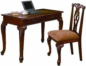 Amazoncom Crown Mark Fairfax Home office DeskChair Set Kitchen