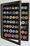 Mahogany Poker Chip Antique Bullion Coin Display Case With Glass Door Solid Wood