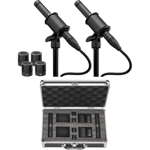 Senal SCI-3212MP Small-Diaphragm Condenser Microphone with Interchangeable Capsules (Matched Pair) -