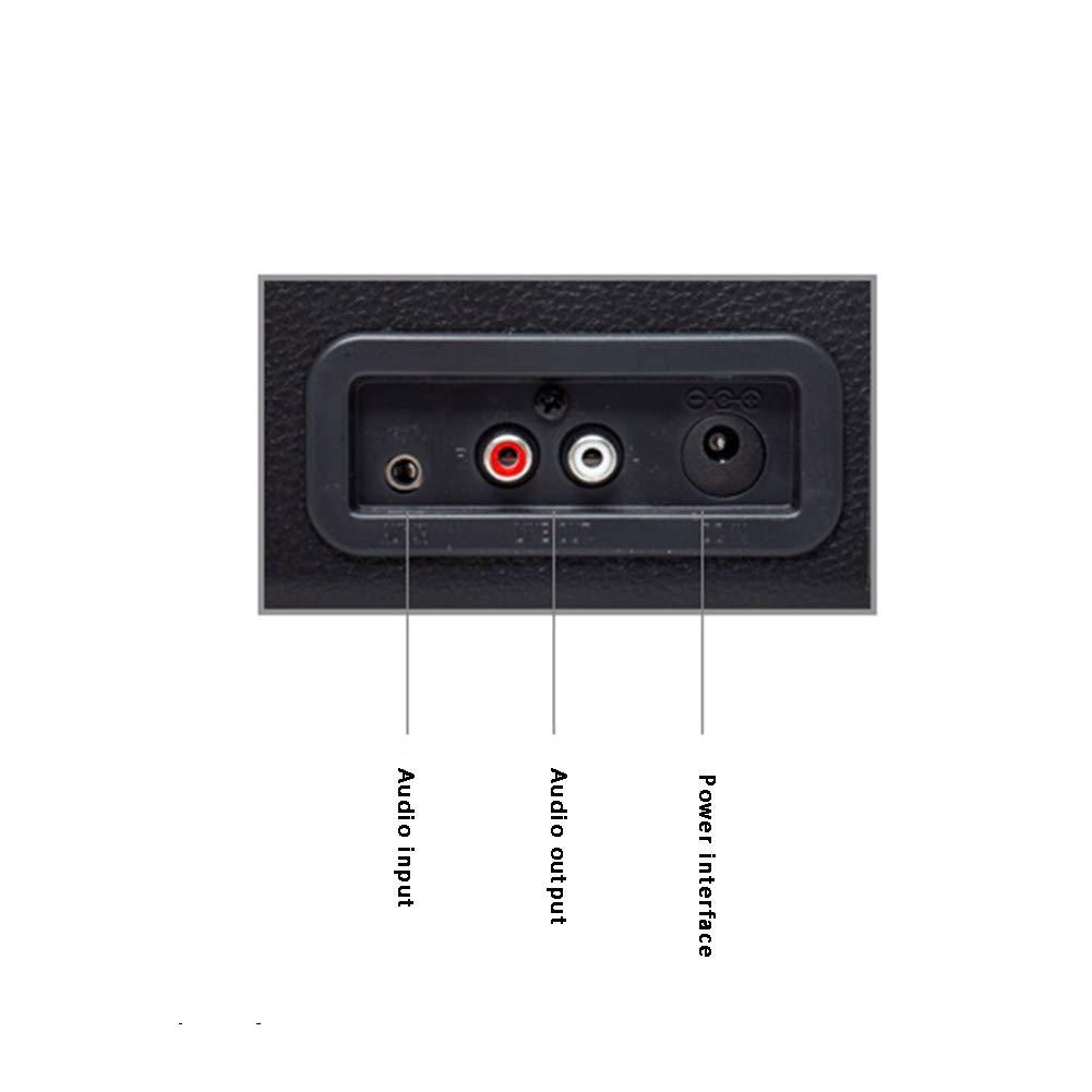 AIBAB Vinilo Tocadiscos Retro Fonógrafo Portátil Bluetooth ...