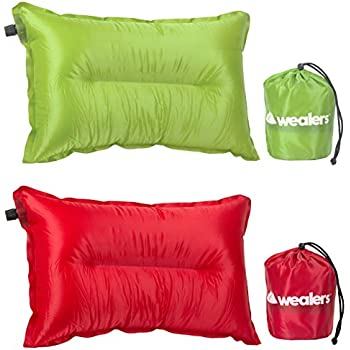 Amazon Com Wealers Camping Pillow Travel Cushion