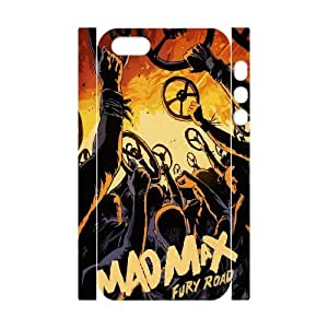 XOXOX Cover Custom Mad Max Phone 3D Case For iPhone 5,5S [Pattern-6]