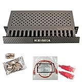 Neat Patch MINI 1U Low Profile Cable Management Kit