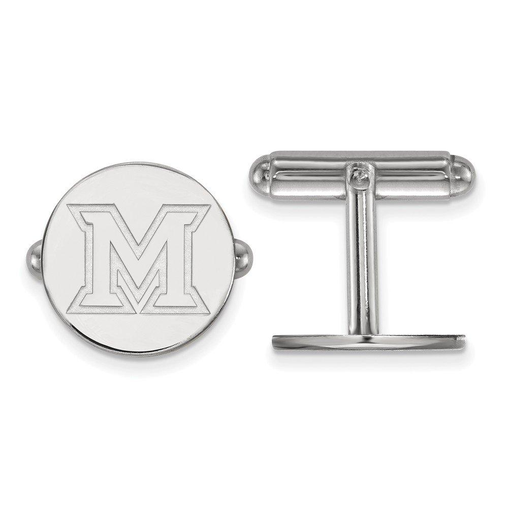 Miami Cuff Links (Sterling Silver)