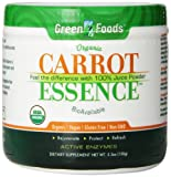 Green Foods – Carrot Essence, 5.3 oz powder