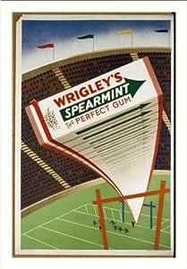Historic Print (L): Wrigley's Spearmint the perfect gum / McCandlish Lithogra...