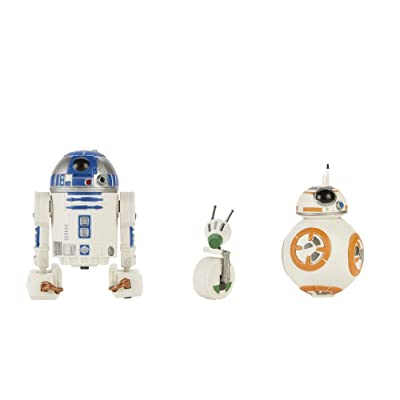 Star Wars Galaxy Of Aventures E9 Droid 3 Pk: Hasbro: Toys & Games