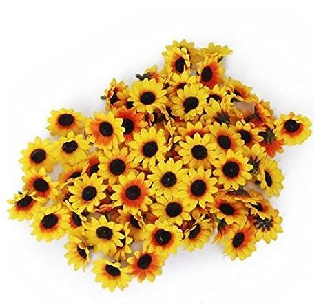 Beito 100 Flores Artificiales De Gerbera Para Manualidades Bodas - Manualidades-con-flores-artificiales