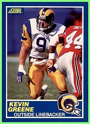 027d6117673 1989 Score #103 Kevin Greene HOF LOS ANGELES RAMS AUBURN TIGERS at ...