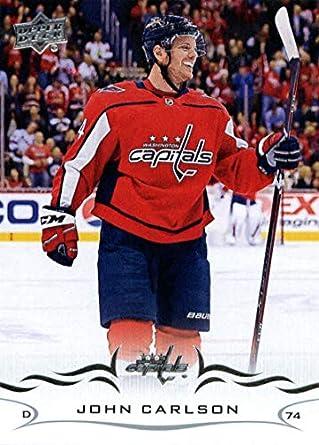 ef595e1363c Amazon.com: 2018-19 Upper Deck #438 John Carlson Washington Capitals Hockey  Card: Collectibles & Fine Art