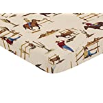 Sweet-JoJo-Designs-Cowboy-Western-Baby-Boy-Fitted-Mini-Portable-Crib-Sheet-for-Wild-West-Collection-for-Mini-Crib-or-Pack-and-Play-ONLY