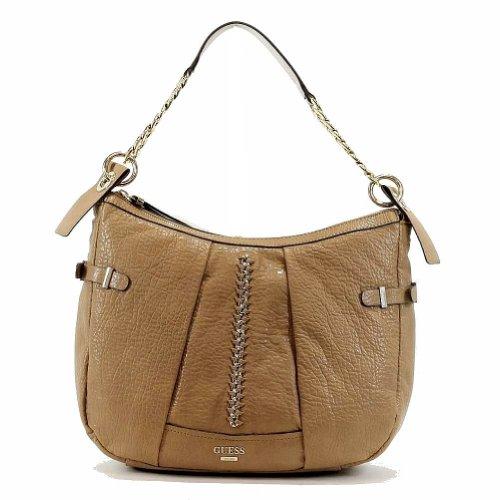 Guess Women's Abbey Ray 453002 Hobo Handbag (Camel)