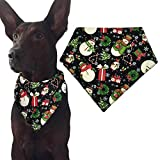 Chrismas Dog Bandana Triangle Bibs Scarf Accessories for Cats Pets Animals