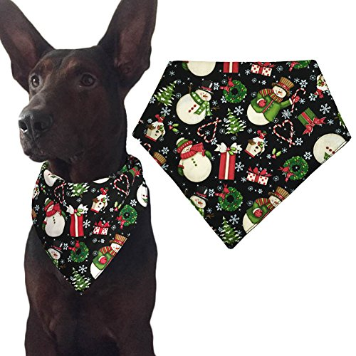 Christmas Dog Bandana Triangle Bibs Scarf Accessories for Cats Pets - Bandana Dog Christmas