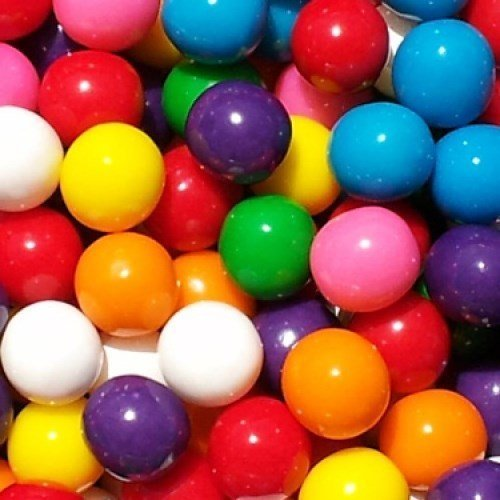 Assorted 8 Color 1 Inch Gumballs (3 POUNDS) by GUM 4 U