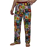 MARVEL COMICS (IRON MAN, HULK) Mens Fall / Winter Pajama Pants S Multicolor