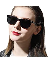 Chic Retro Polarized Sunglasses for Women Men UV400...