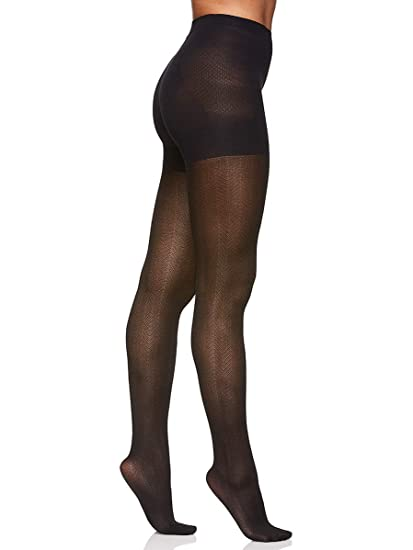 0314e41cef47b Berkshire Women's The Easy On! Herringbone Patterned Opaque Tights ...