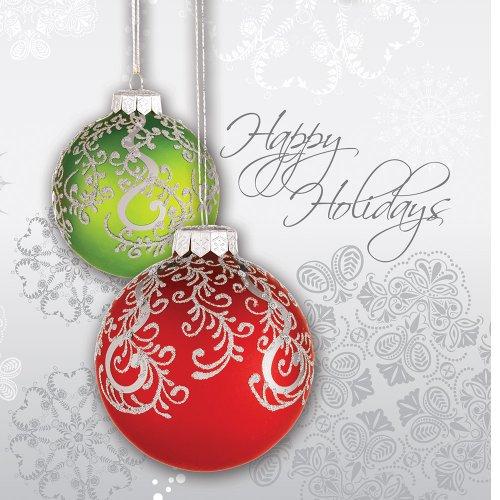 Creative Converting Napkins Holidays Greeting