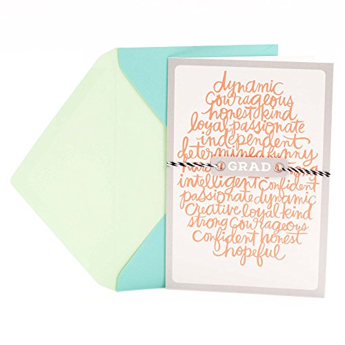 Hallmark Graduation Greeting Card (All That You Will Be)