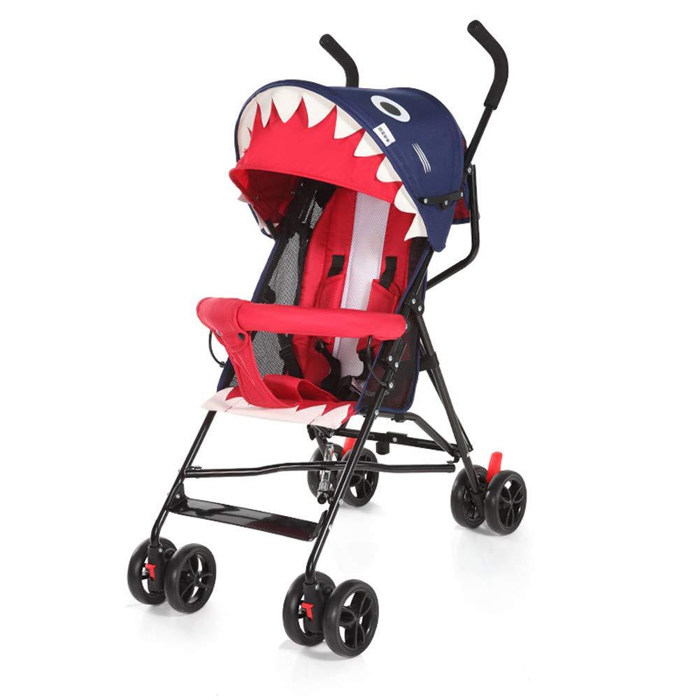 ベビーカー新生児ベビーカー夏ポータブル軽量ベビーカー半分横たわっ傘車の乳母車簡単折りたたみバギー,c  c B07SF4D898