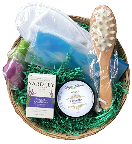 Daylee Naturals Bath and Body Spa Gift Basket