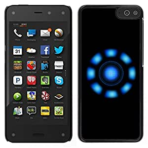 LECELL--Funda protectora / Cubierta / Piel For Amazon Fire Phone -- Luces azules --