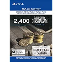 2,400 Call of Duty: Modern Warfare Points - PS4…