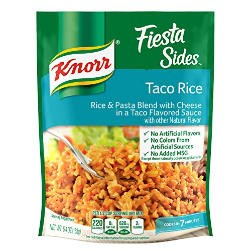 Knorr Side Dishes - Knorr Rice Side Dish, Fiesta Taco, 5.4 oz