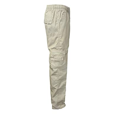 Cargo Travail Homme Sports Running De Poches Pantalon Militaire Large Jogging Youthny Multi Outdoor vmw8Nn0
