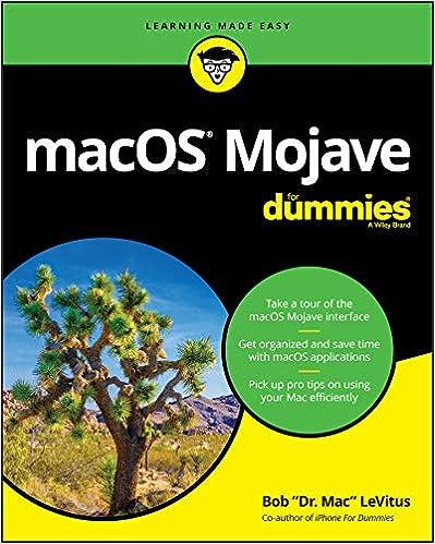 Amazon com: macOS Mojave For Dummies (For Dummies (Computer