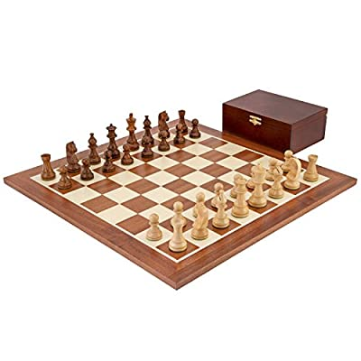 Down Head Grand Sheesham Championship Chess Set