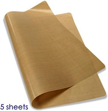 5 x Teflon bake sheets 40 x 50 cm