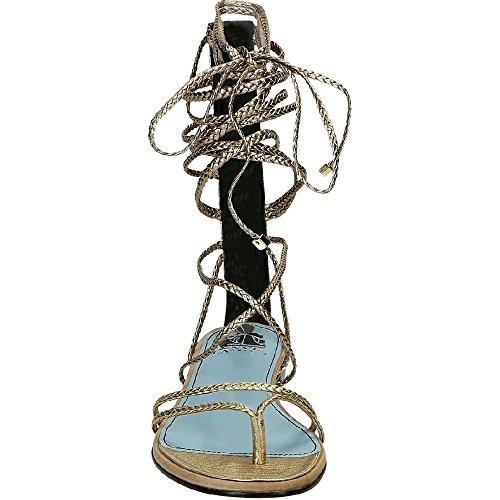 Número planos Oro oro FWSHCT1CGAXYE16 de de modelo de sandalias Lanvin piel becerro de tiras de vA6dvw