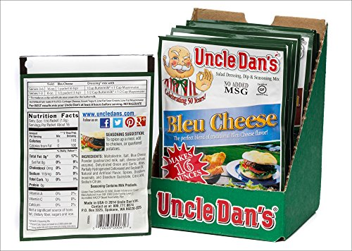 Strawberry Dip Recipe - Uncle Dan's Dips, Seasonings and Salad Dressings Mix Packets - California Country Dill - For the Perfect Homemade Flavor in Your Dry Rubs, Pasta Sauces & Marinades - Case of 12 Packets