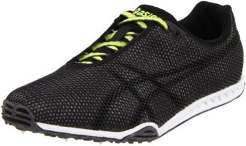 ASICS Men's GEL-Dirt Dog 4 Track And Field Shoe,Carbon/Black/Lime,4 M US