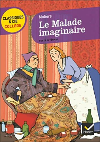 Book's Cover of Le Malade imaginaire (Français) Poche – 27 avril 2011