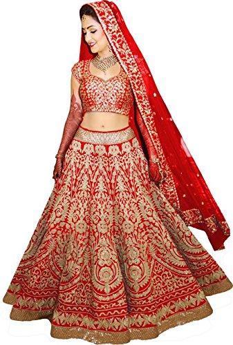 Lehenga Choli For Women (Bridal Lehenga) (Wedding Special)