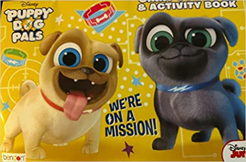 Disney Puppy Dog Pals Giant Coloring Activity Book Were On A Mission Junior 9781505054798 Amazon Books